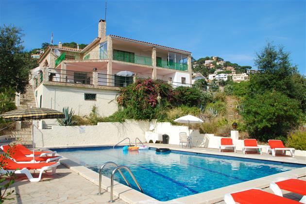 Ontdek Lloret del Mar Casa Panorama del Mar vakantiehuis vanaf 544 euro/ per week