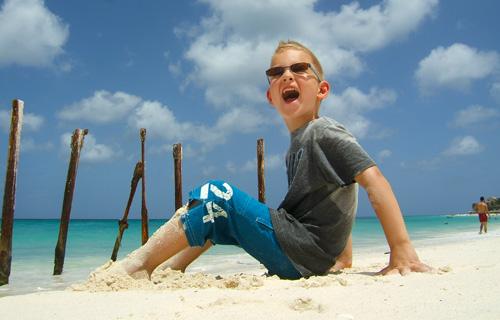 16-daagse familie combireis Islandhopping Aruba, Bonaire & Curaçao