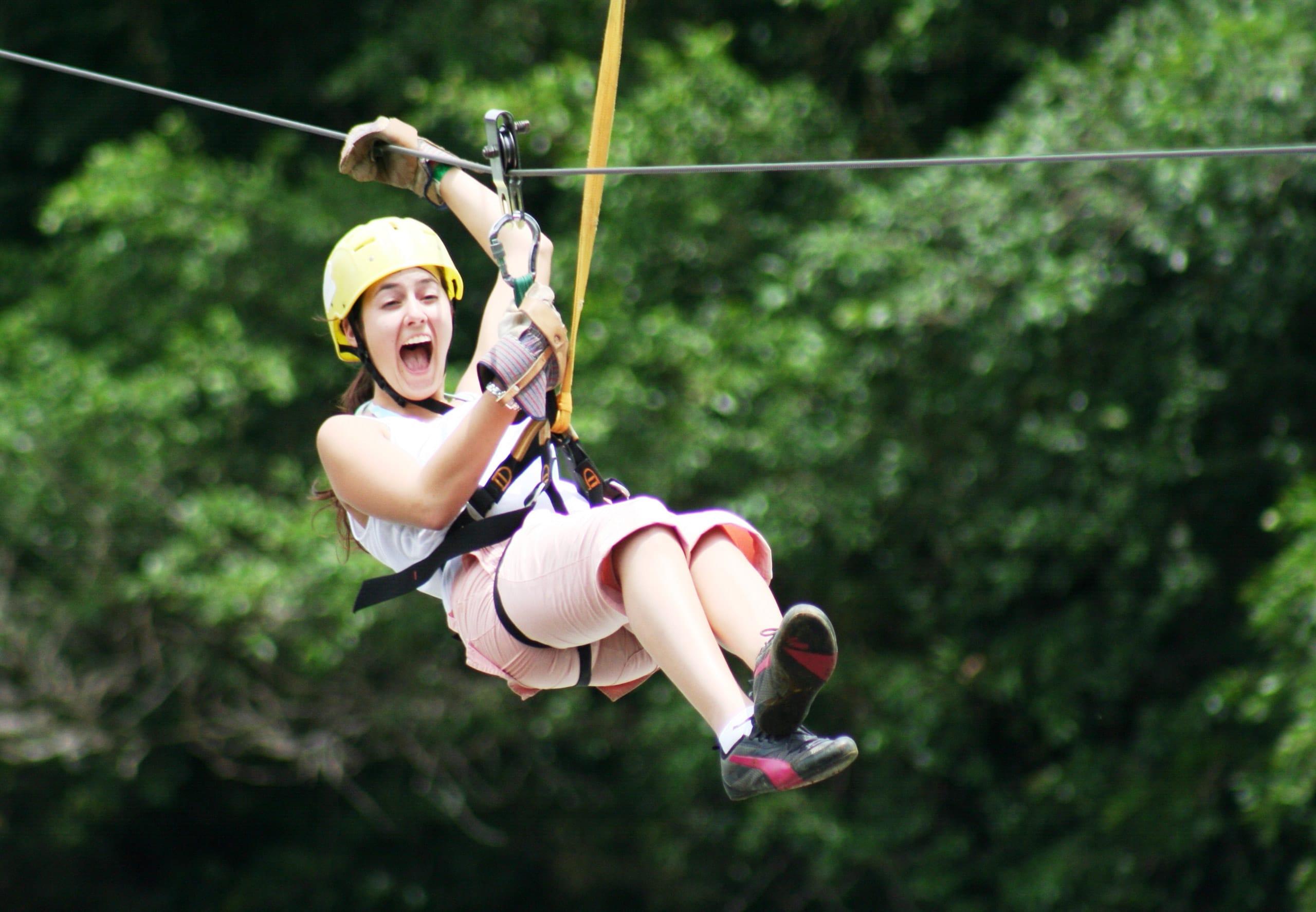 14-daagse familie groepsreis Boomslingeren als Tarzan met Lufthansa