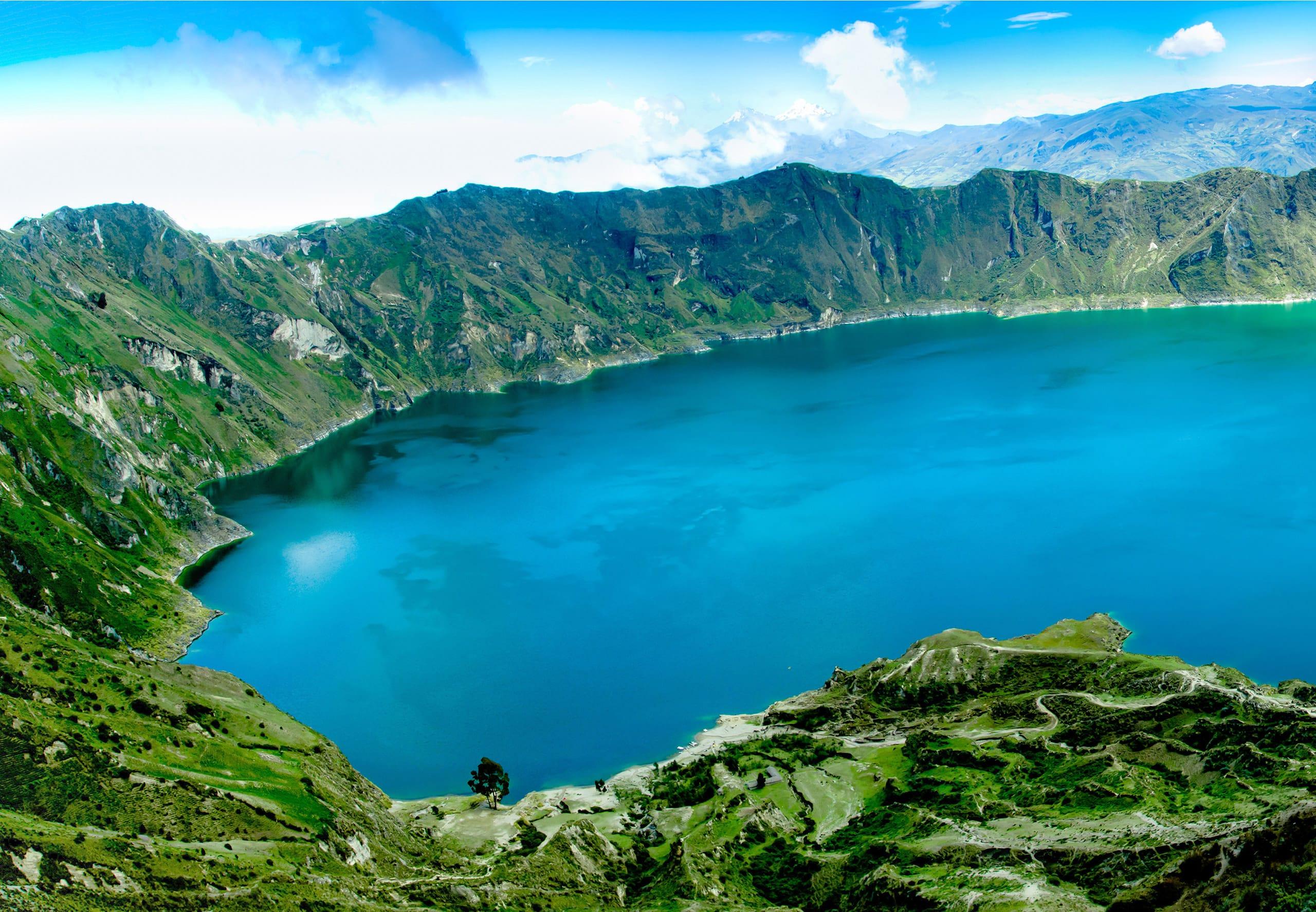 14-daagse privé rondreis diverse vervoerstypes Fantastisch Ecuador