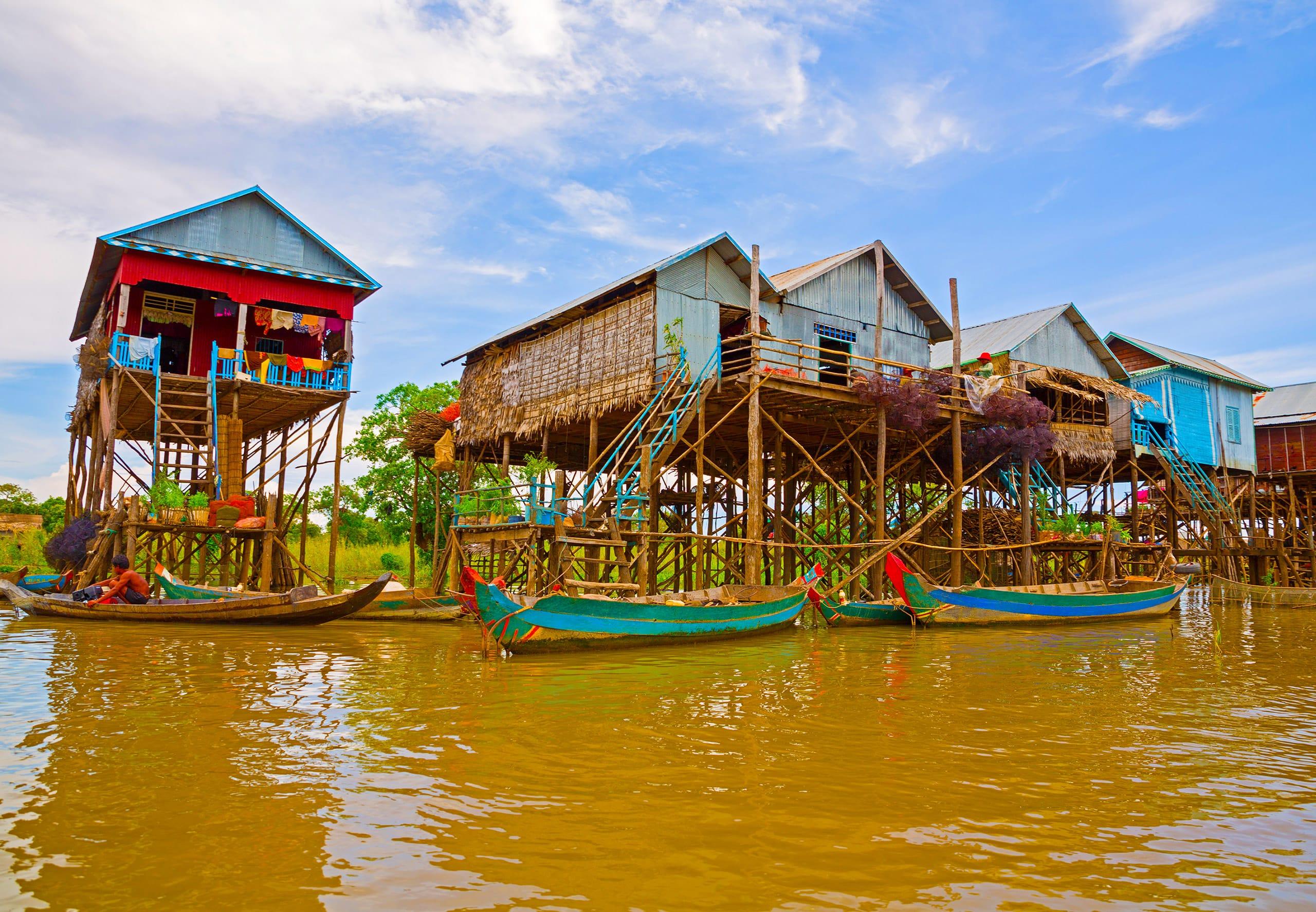 15-daagse privé rondreis met chauffeur Kleurrijk Cambodja en Koh Chang